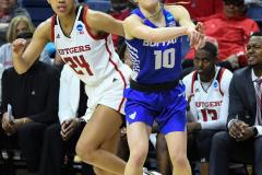 NCAA Women's Basketball 1st Round - #7 Rutgers 71 vs. #10 Buffalo 82 (88)