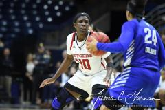 NCAA Women's Basketball 1st Round - #7 Rutgers 71 vs. #10 Buffalo 82 (89)