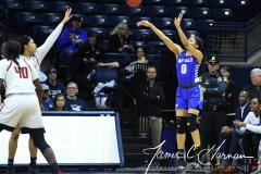 NCAA Women's Basketball 1st Round - #7 Rutgers 71 vs. #10 Buffalo 82 (91)