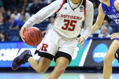 NCAA Women's Basketball 1st Round - #7 Rutgers 71 vs. #10 Buffalo 82 (93)