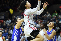 NCAA Women's Basketball 1st Round - #7 Rutgers 71 vs. #10 Buffalo 82 (94)