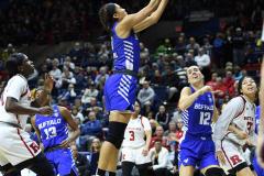 NCAA Women's Basketball 1st Round - #7 Rutgers 71 vs. #10 Buffalo 82 (97)