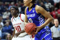 NCAA Women's Basketball 1st Round - #7 Rutgers 71 vs. #10 Buffalo 82 (98)