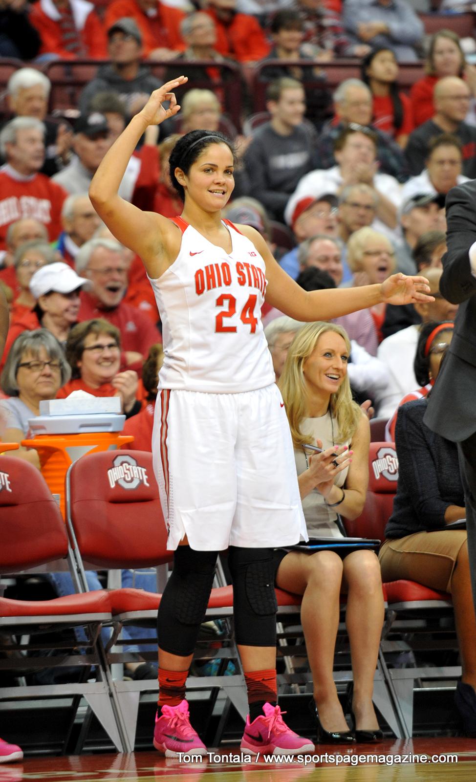 Gallery NCAA Women's Basketball: (#5) Ohio State 117 vs ...
