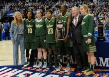 NCCA Women's Basketball AAC Championship Awards #1 UConn 77 vs. #2 USF 51 - Photo (11)