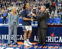 NCCA Women's Basketball AAC Championship Awards #1 UConn 77 vs. #2 USF 51 - Photo (12)