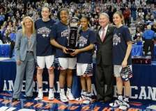NCCA Women's Basketball AAC Championship Awards #1 UConn 77 vs. #2 USF 51 - Photo (14)