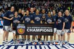 NCCA Women's Basketball AAC Championship Awards #1 UConn 77 vs. #2 USF 51 - Photo (15)