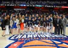 NCCA Women's Basketball AAC Championship Awards #1 UConn 77 vs. #2 USF 51 - Photo (17)