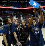 NCCA Women's Basketball AAC Championship Awards #1 UConn 77 vs. #2 USF 51 - Photo (19)