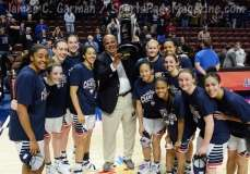 NCCA Women's Basketball AAC Championship Awards #1 UConn 77 vs. #2 USF 51 - Photo (20)