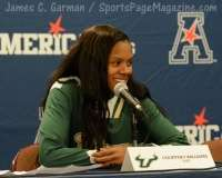NCCA Women's Basketball AAC Championship Awards #1 UConn 77 vs. #2 USF 51 - Photo (22)
