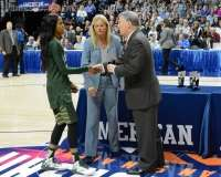 NCCA Women's Basketball AAC Championship Awards #1 UConn 77 vs. #2 USF 51 - Photo (5)