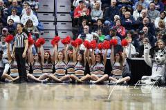 NCAA Women's Basketball AAC Championship - #1 UConn 66 vs. #2 UCF 45 (103)