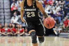 NCAA Women's Basketball AAC Championship - #1 UConn 66 vs. #2 UCF 45 (104)