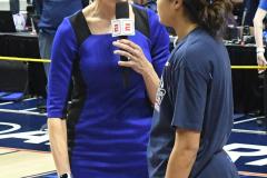 NCAA Women's Basketball AAC Championship - #1 UConn 66 vs. #2 UCF 45 (110)