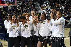 NCAA Women's Basketball AAC Championship - #1 UConn 66 vs. #2 UCF 45 (111)