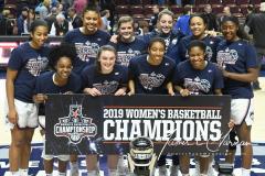 NCAA Women's Basketball AAC Championship - #1 UConn 66 vs. #2 UCF 45 (113)