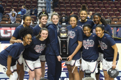 NCAA Women's Basketball AAC Championship - #1 UConn 66 vs. #2 UCF 45 (114)