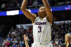 NCAA Women's Basketball AAC Championship - #1 UConn 66 vs. #2 UCF 45 (22)