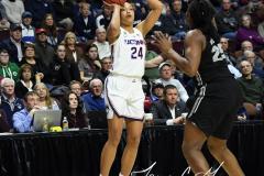 NCAA Women's Basketball AAC Championship - #1 UConn 66 vs. #2 UCF 45 (24)