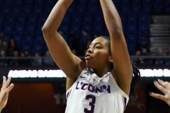 NCAA Women's Basketball AAC Championship - #1 UConn 66 vs. #2 UCF 45 (28)