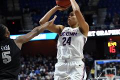 NCAA Women's Basketball AAC Championship - #1 UConn 66 vs. #2 UCF 45 (31)