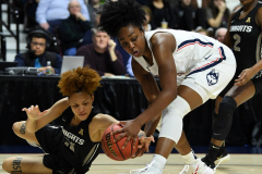 NCAA Women's Basketball AAC Championship - #1 UConn 66 vs. #2 UCF 45 (38)