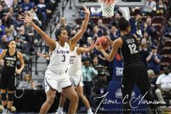 NCAA Women's Basketball AAC Championship - #1 UConn 66 vs. #2 UCF 45 (39)