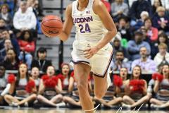 NCAA Women's Basketball AAC Championship - #1 UConn 66 vs. #2 UCF 45 (42)