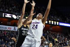 NCAA Women's Basketball AAC Championship - #1 UConn 66 vs. #2 UCF 45 (45)