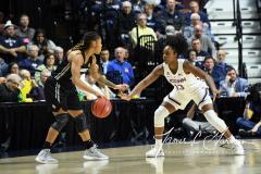 NCAA Women's Basketball AAC Championship - #1 UConn 66 vs. #2 UCF 45 (48)