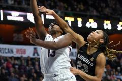 NCAA Women's Basketball AAC Championship - #1 UConn 66 vs. #2 UCF 45 (50)