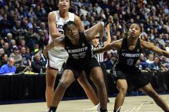 NCAA Women's Basketball AAC Championship - #1 UConn 66 vs. #2 UCF 45 (52)