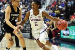 NCAA Women's Basketball AAC Championship - #1 UConn 66 vs. #2 UCF 45 (53)