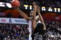 NCAA Women's Basketball AAC Championship - #1 UConn 66 vs. #2 UCF 45 (55)