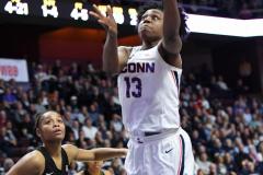 NCAA Women's Basketball AAC Championship - #1 UConn 66 vs. #2 UCF 45 (61)