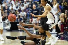 NCAA Women's Basketball AAC Championship - #1 UConn 66 vs. #2 UCF 45 (63)