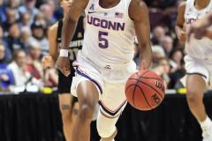 NCAA Women's Basketball AAC Championship - #1 UConn 66 vs. #2 UCF 45 (65)