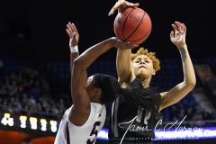 NCAA Women's Basketball AAC Championship - #1 UConn 66 vs. #2 UCF 45 (67)