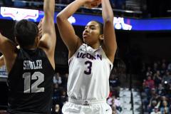 NCAA Women's Basketball AAC Championship - #1 UConn 66 vs. #2 UCF 45 (68)