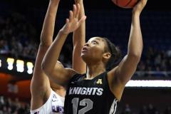 NCAA Women's Basketball AAC Championship - #1 UConn 66 vs. #2 UCF 45 (75)