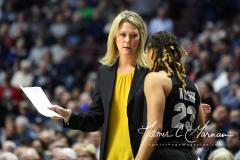 NCAA Women's Basketball AAC Championship - #1 UConn 66 vs. #2 UCF 45 (77)