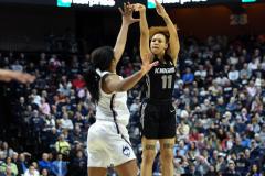 NCAA Women's Basketball AAC Championship - #1 UConn 66 vs. #2 UCF 45 (88)