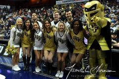 NCAA Women's Basketball AAC Championship - #1 UConn 66 vs. #2 UCF 45 (9)