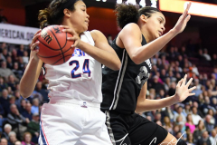 NCAA Women's Basketball AAC Championship - #1 UConn 66 vs. #2 UCF 45 (95)