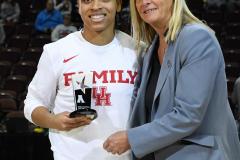 NCAA Women's Basketball AAC Quarterfinals - #4 Houston 55 vs. #5 USF 72 (11)