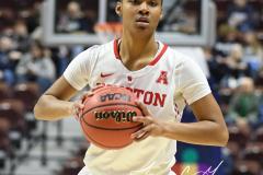 NCAA Women's Basketball AAC Quarterfinals - #4 Houston 55 vs. #5 USF 72 (18)