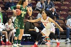 NCAA Women's Basketball AAC Quarterfinals - #4 Houston 55 vs. #5 USF 72 (19)