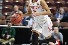 NCAA Women's Basketball AAC Quarterfinals - #4 Houston 55 vs. #5 USF 72 (21)